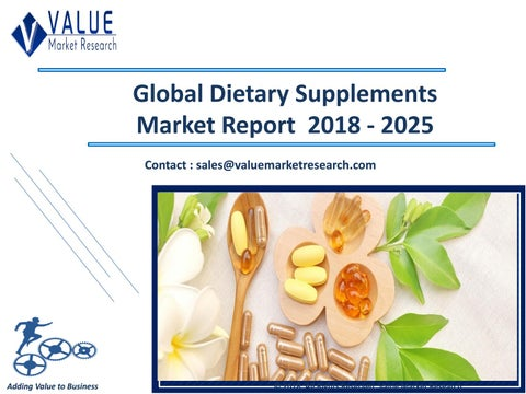 Dietary Supplements Market Size, Trends & Industry Research Report 2018-2025