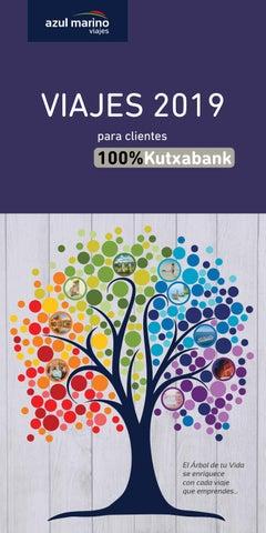 Catálogo viajes 2019 100%kutxabank CASTELLANO by Azul Marino Viajes ... 6274582106f