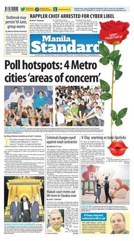 Manila Standard - 2019 February 14 - Thursday by Manila Standard - issuu