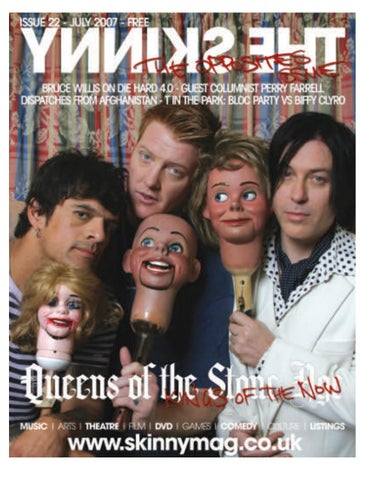 The Skinny July 2007 by The Skinny - issuu