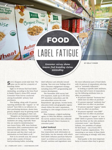 Page 22 of Food label fatigue