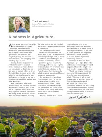 Page 27 of The Last Word: Kindness in Agriculture