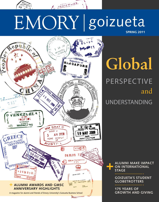 Emory Business Magazine Spring 2011 by Emory Goizueta - issuu