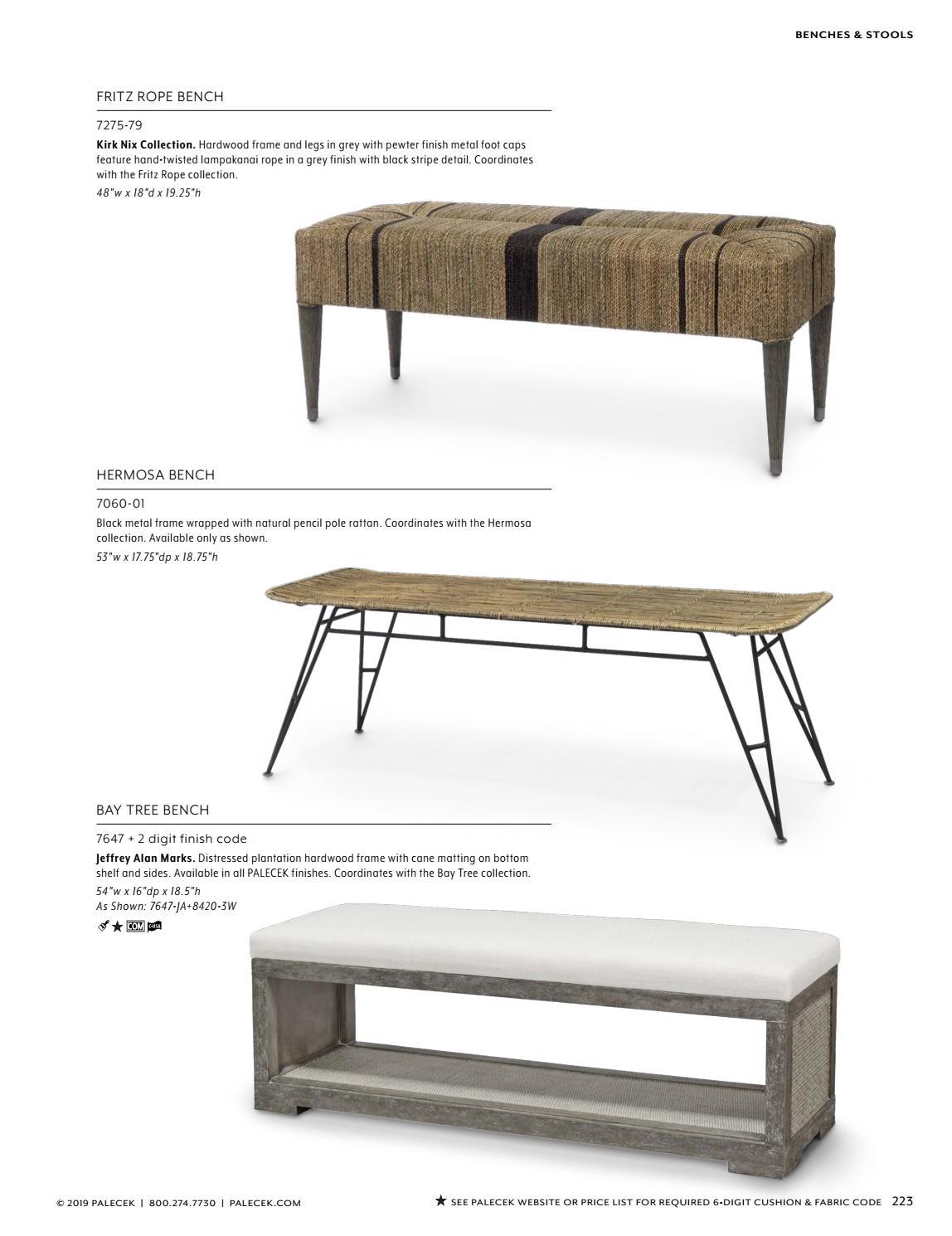 Astounding Palecek 2019 Furniture Accessories Catalog By Theyellowbook Wood Chair Design Ideas Theyellowbookinfo