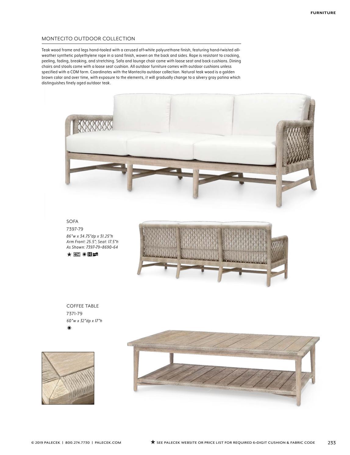 Strange Palecek 2019 Furniture Accessories Catalog By Theyellowbook Wood Chair Design Ideas Theyellowbookinfo
