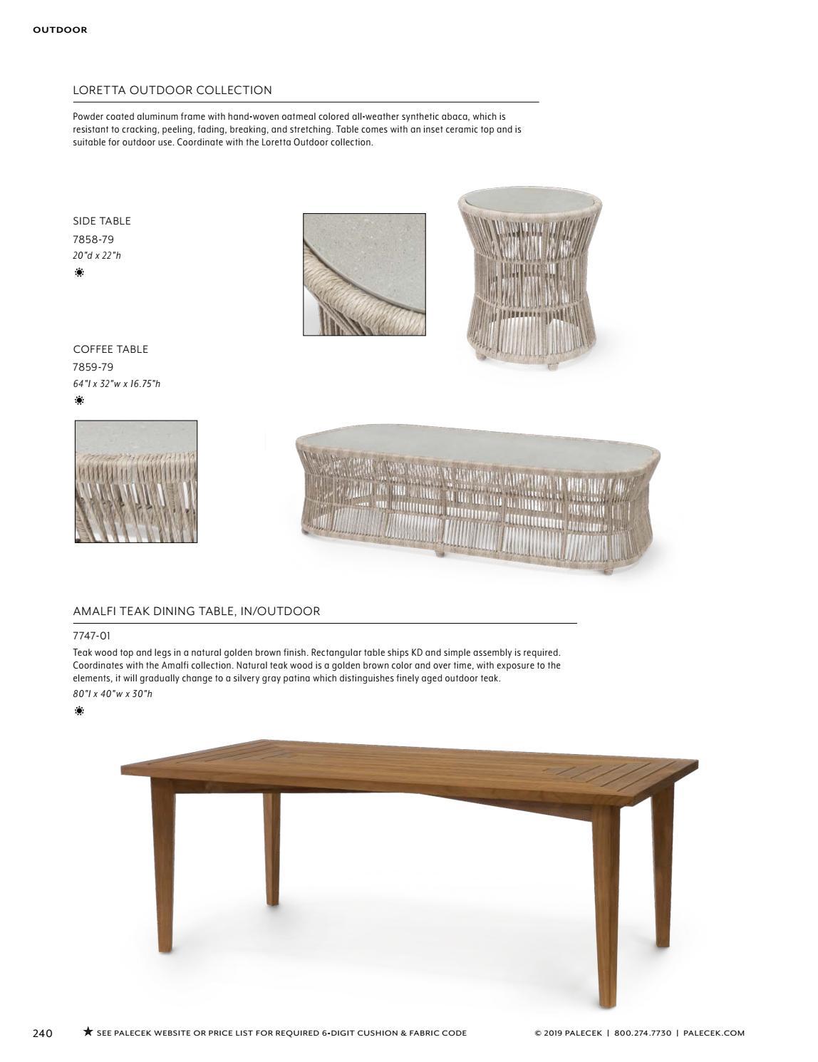 PALECEK 2019 Furniture Accessories Catalog By Palecekdesign