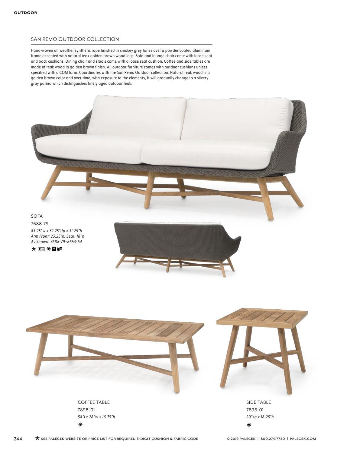 Groovy Palecek 2019 Furniture Accessories Catalog By Theyellowbook Wood Chair Design Ideas Theyellowbookinfo