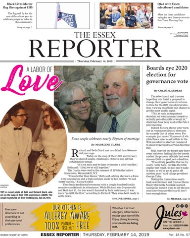 Swell The Essex Reporter February 14 2019 By Essex Reporter Issuu Gmtry Best Dining Table And Chair Ideas Images Gmtryco