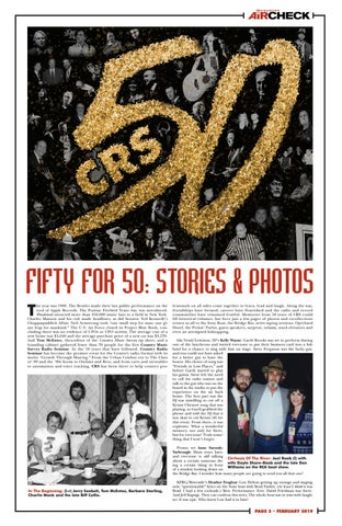 Page 3 of Fifty for 50 - CRS Stories & Photos