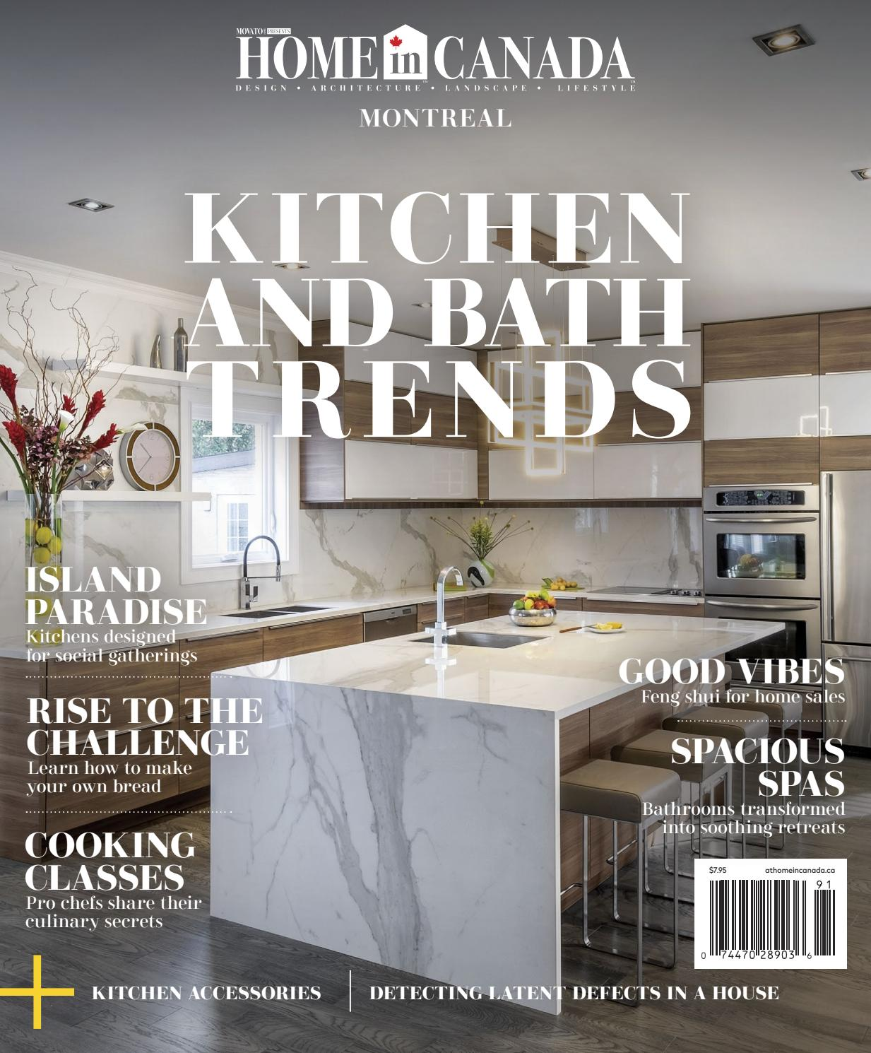 Home in canada montreal kitchen and bath trends 2019 by home in canada design ▫ architecture ▫ landscape ▫ lifestyle issuu