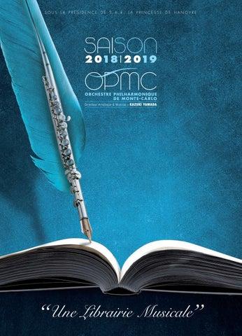 Brochure 18 19 Orchestre Philharmonique De Monte Carlo By Association Française Des Orchestres Issuu