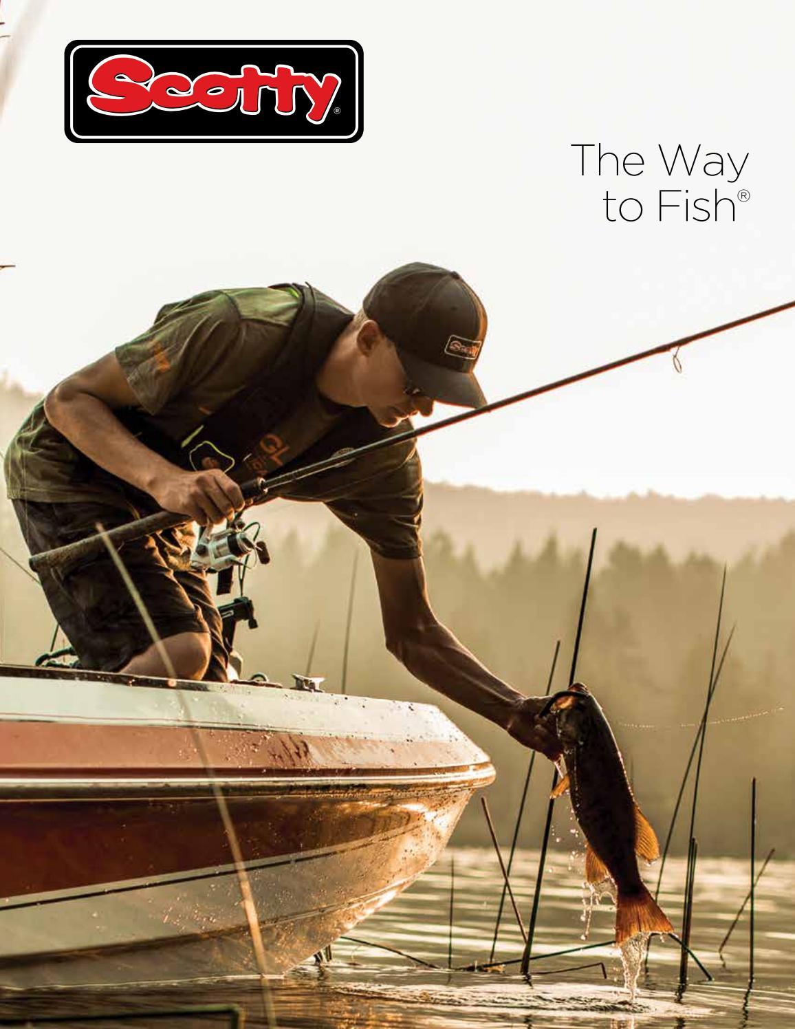 Scotty Fishing 400-Bk Orca Rod Holder W 241 Side Deck Mount