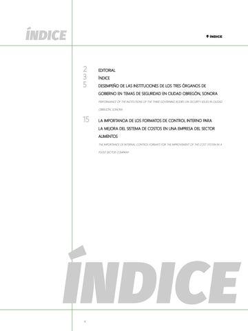 Page 4 of Desempeño de las instituciones de los tres órganos de Gobierno en temas de seguridad en Ciudad Obregón, Sonora