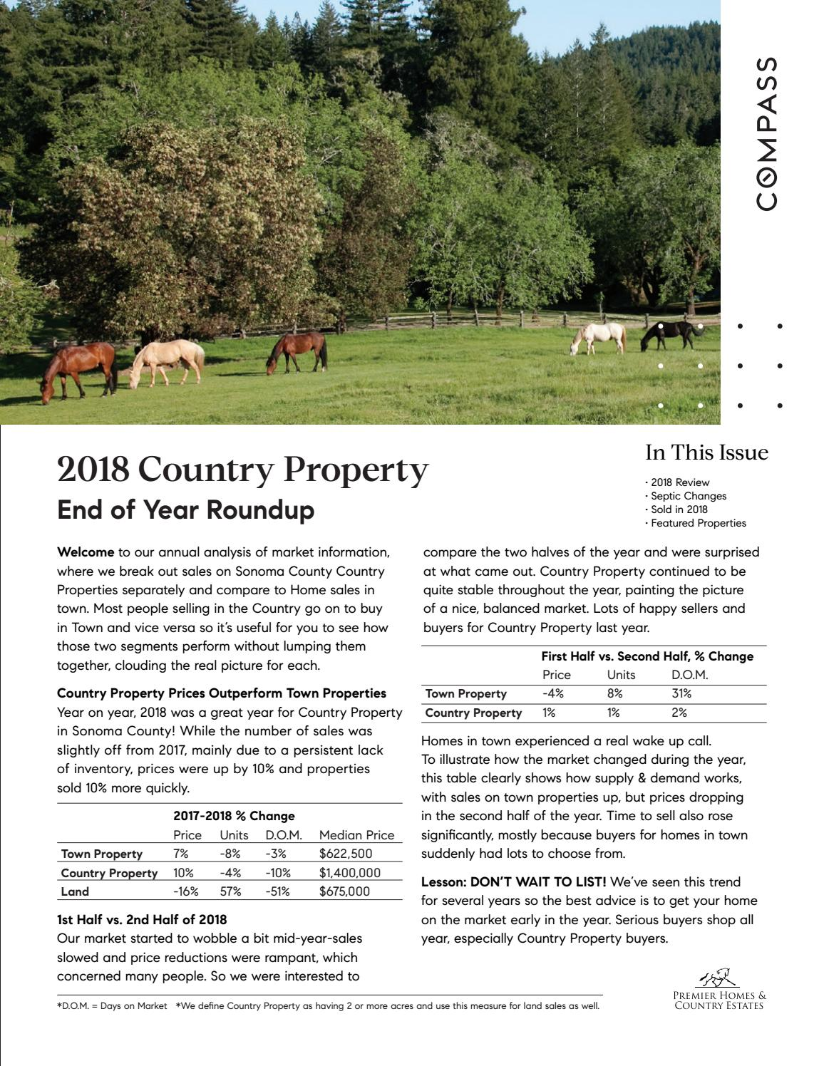 Country Property End of Year Roundup 2019 by Premier Homes & Country