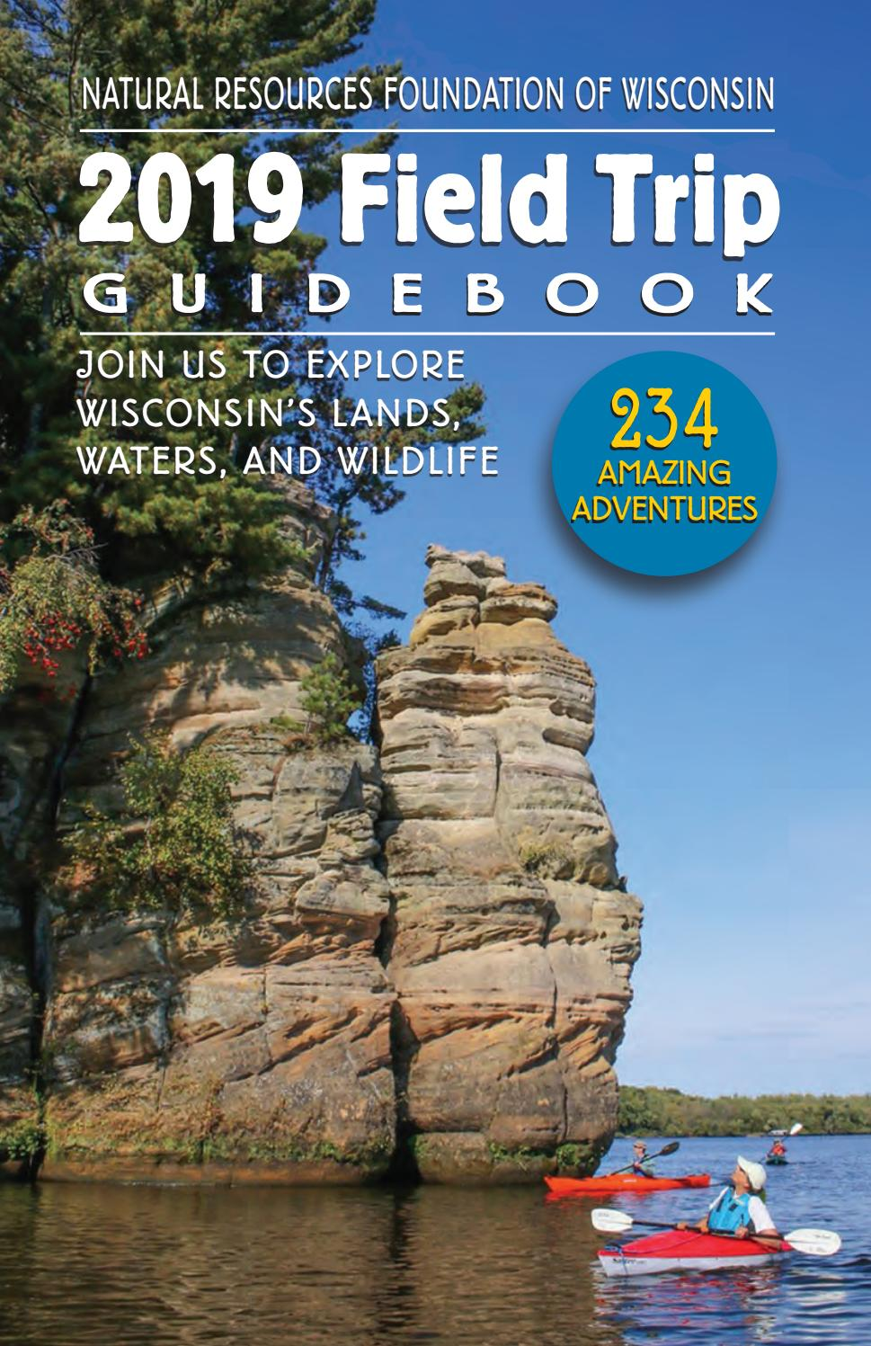 2019 Field Trip Guidebook by Natural Resources Foundation ...