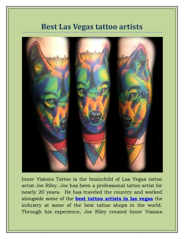 best tattoo artists in las vegas by Inner Visions Tattoo - issuu