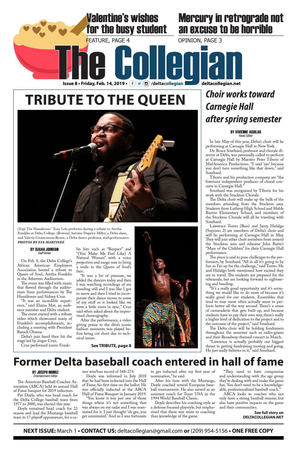 The Collegian — Published Feb  14, 2019 by The Collegian - issuu