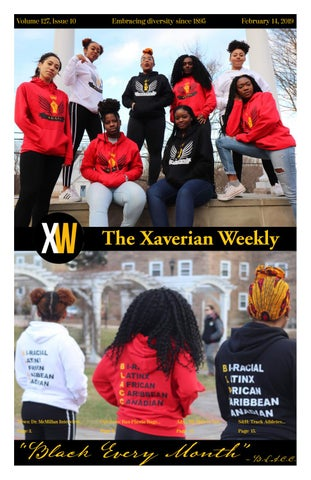 Volume 127 Issue 10 by The Xaverian - issuu