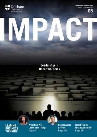 111d9cc72fe Impact magazine Issue 5 by Durham University Business School - issuu