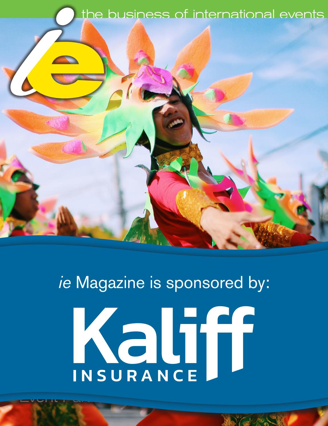 Ie volume 30 issue 1 by International Festivals & Events