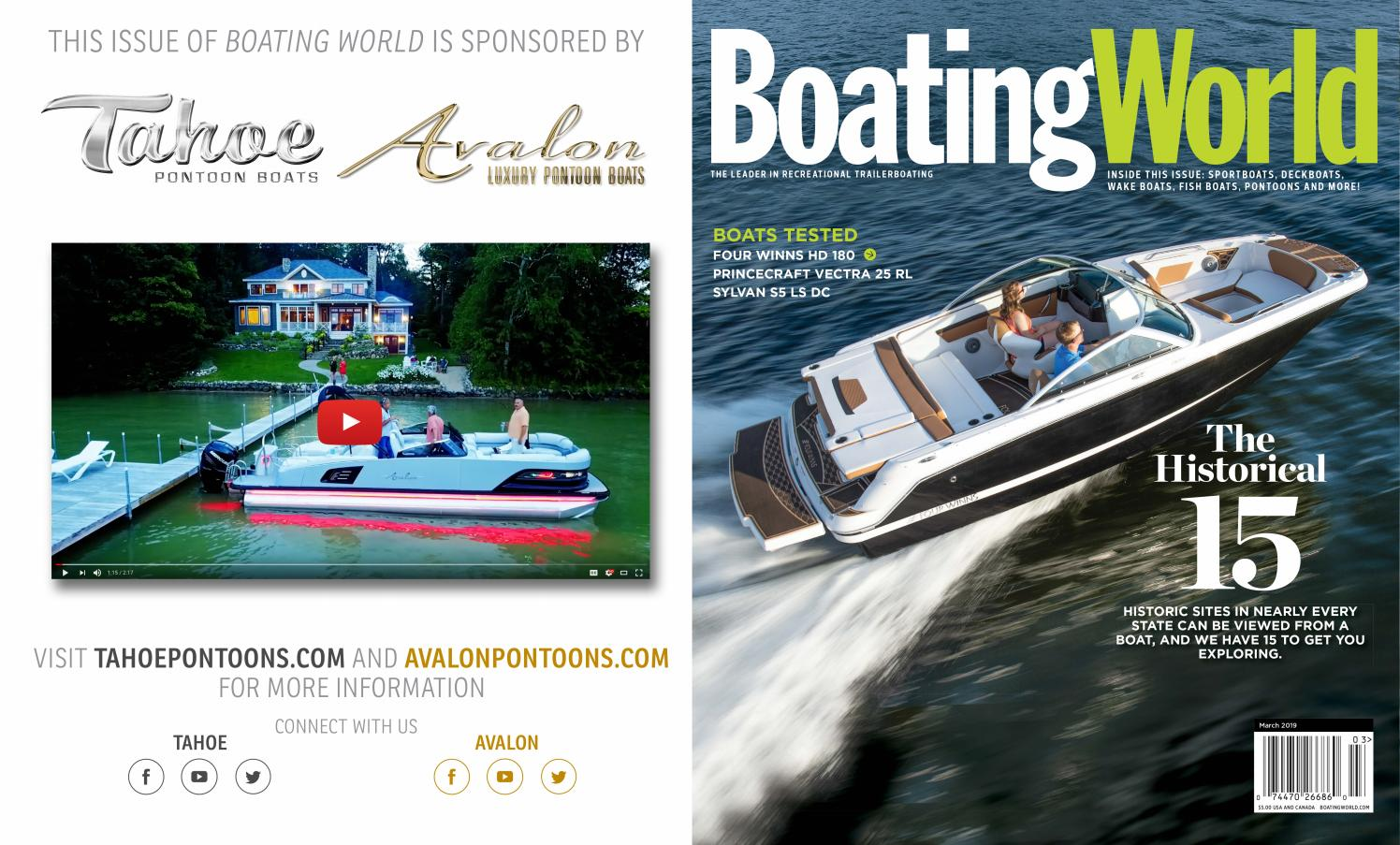 March 2019 - Boating World Magazine by Duncan McIntosh