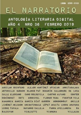 El Narratorio Antología Literaria Digital Nro 36 Febrero 2019 By El