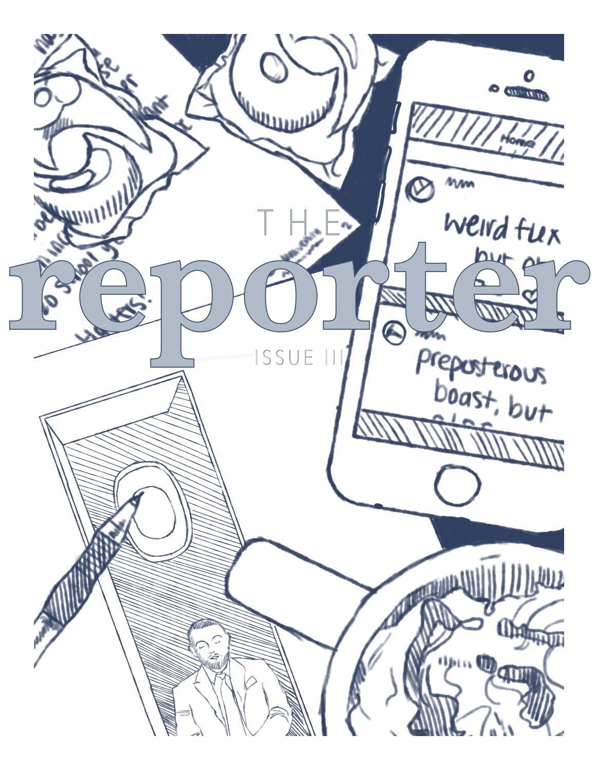 The Reporter Fall 2018 Issue 3
