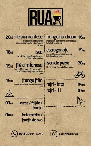 Page 3 of cardapio rua