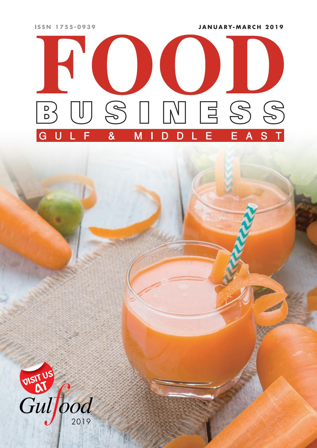Jan March 2019 Edition Of Food Business Magazine By Food Business
