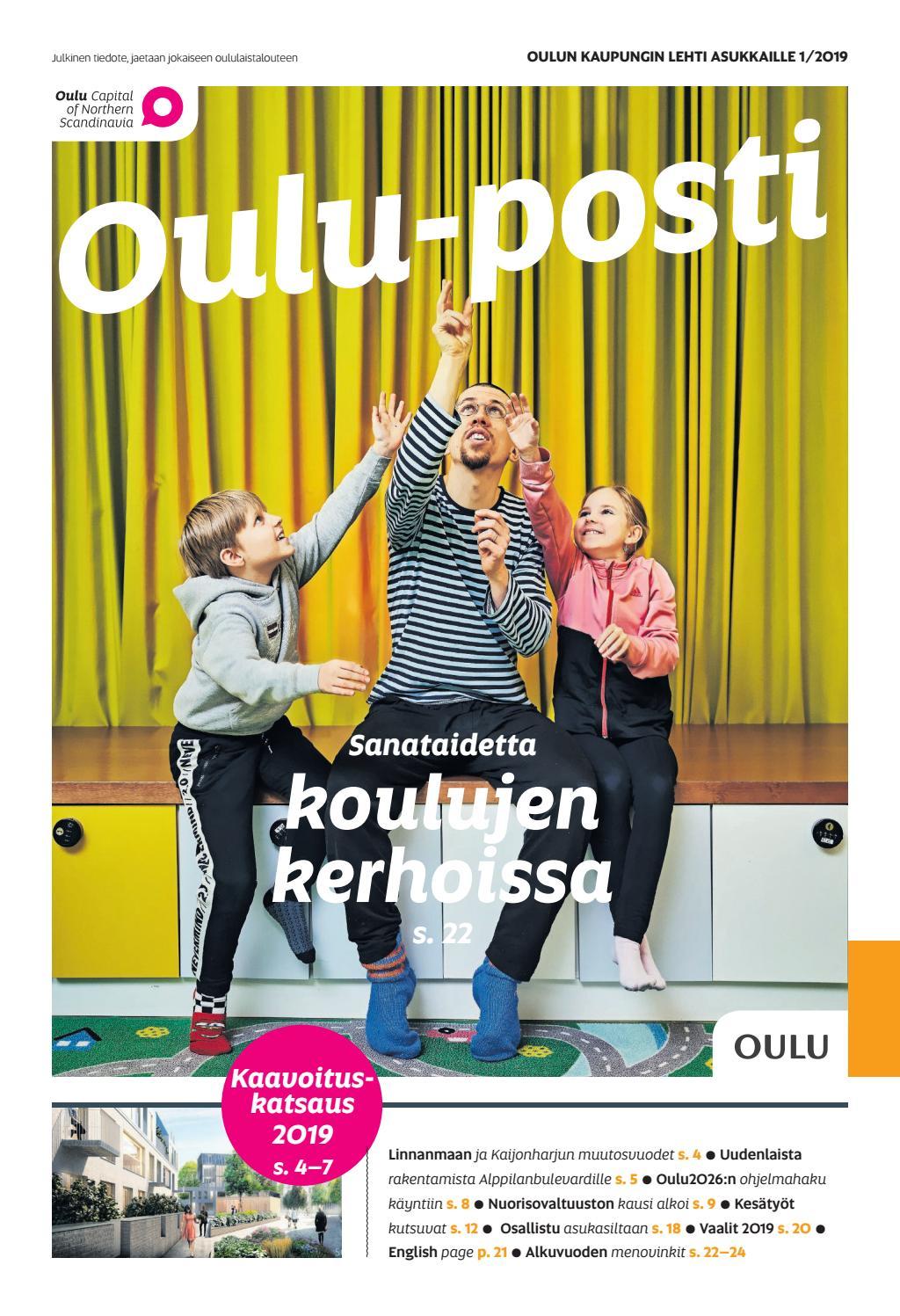 Oulu Posti 1 2019 By Otavamedia Oma Issuu