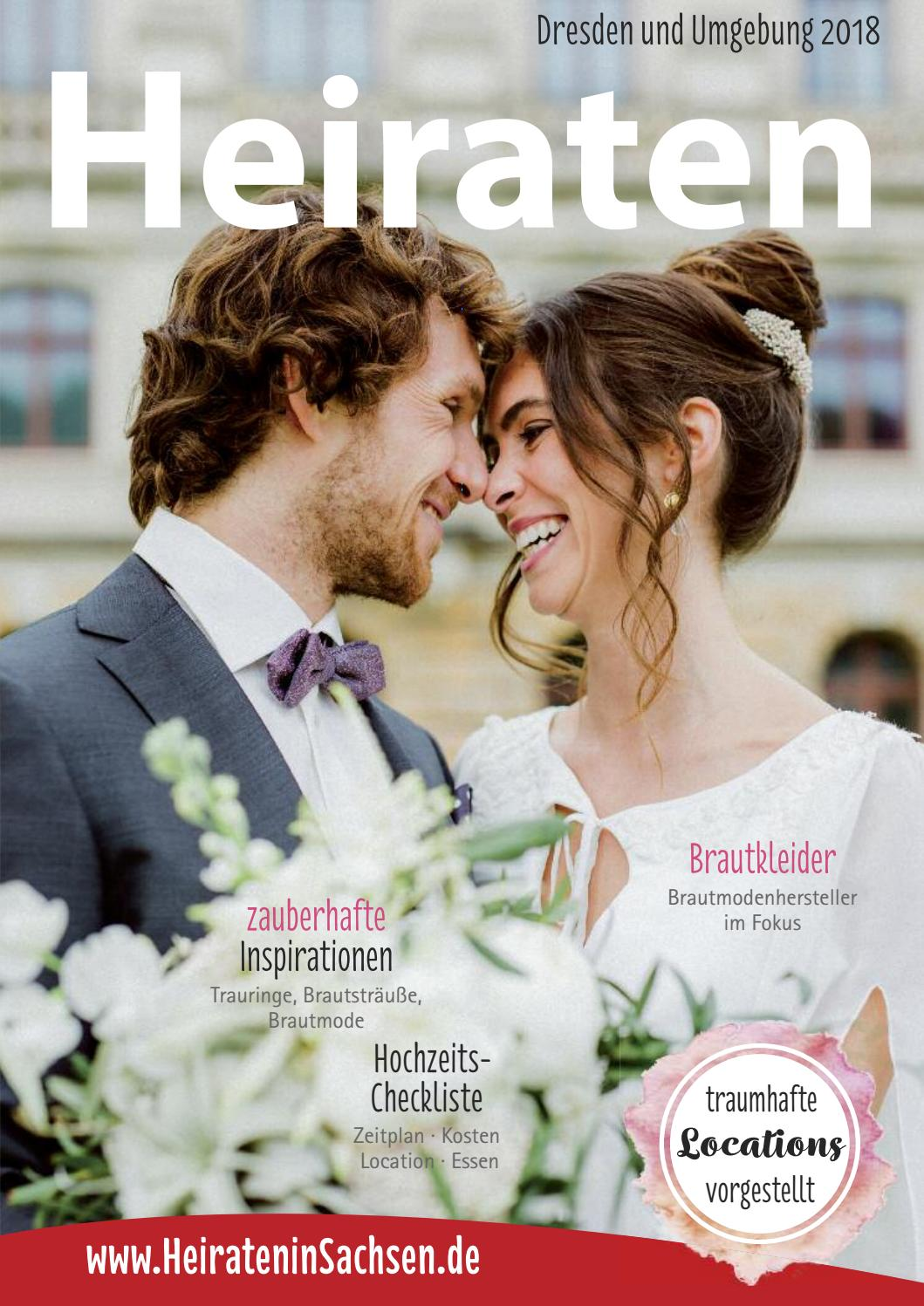 Heiraten In Dresden Und Umgebung 2018 By Magazin Heiraten