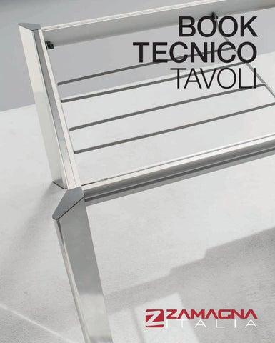 Zamagna Book Tecnico Tavoli Catalogo Tavoli E Sedie By Progettocasaid Issuu