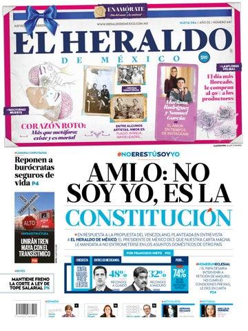 14 de febrero de 2019 by El Heraldo de México - issuu da0c3e76415