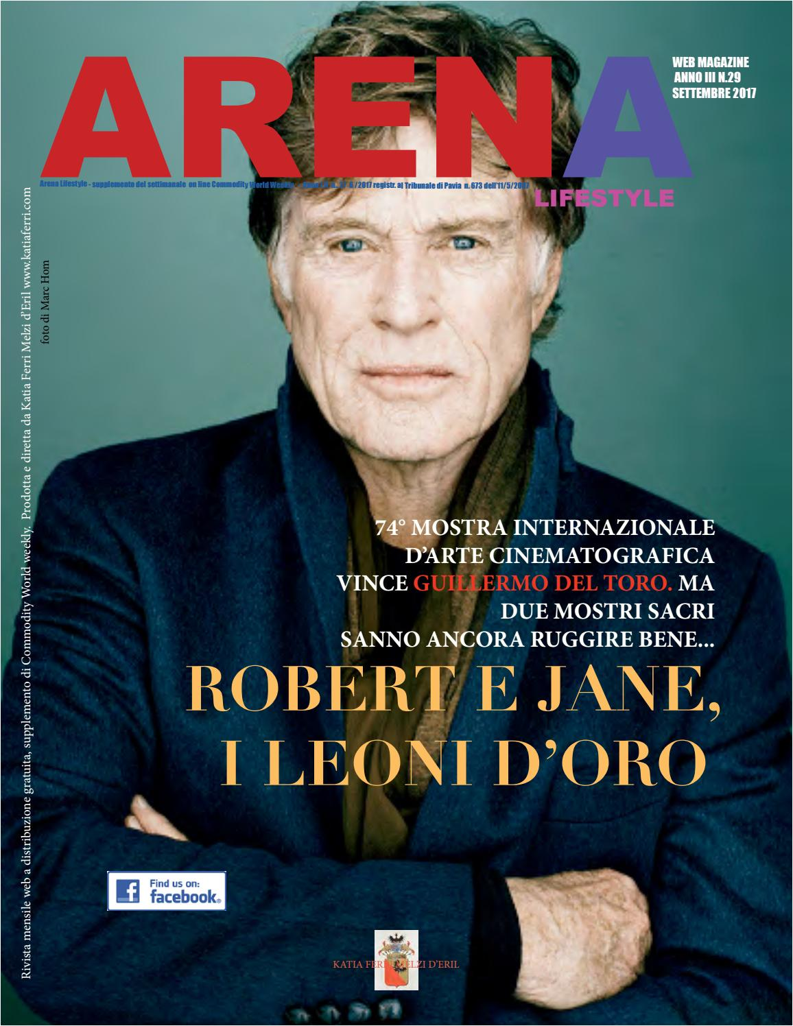 Arena lifestyle 09 2017 by katia Ferri Melzi d Eril - issuu cac0495dbef