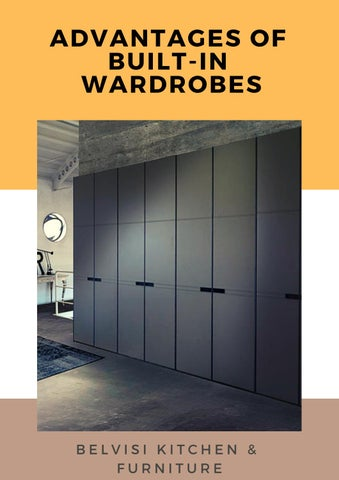 . Contemporary Wardrobes by Belvisi Kitchen   Furniture   issuu