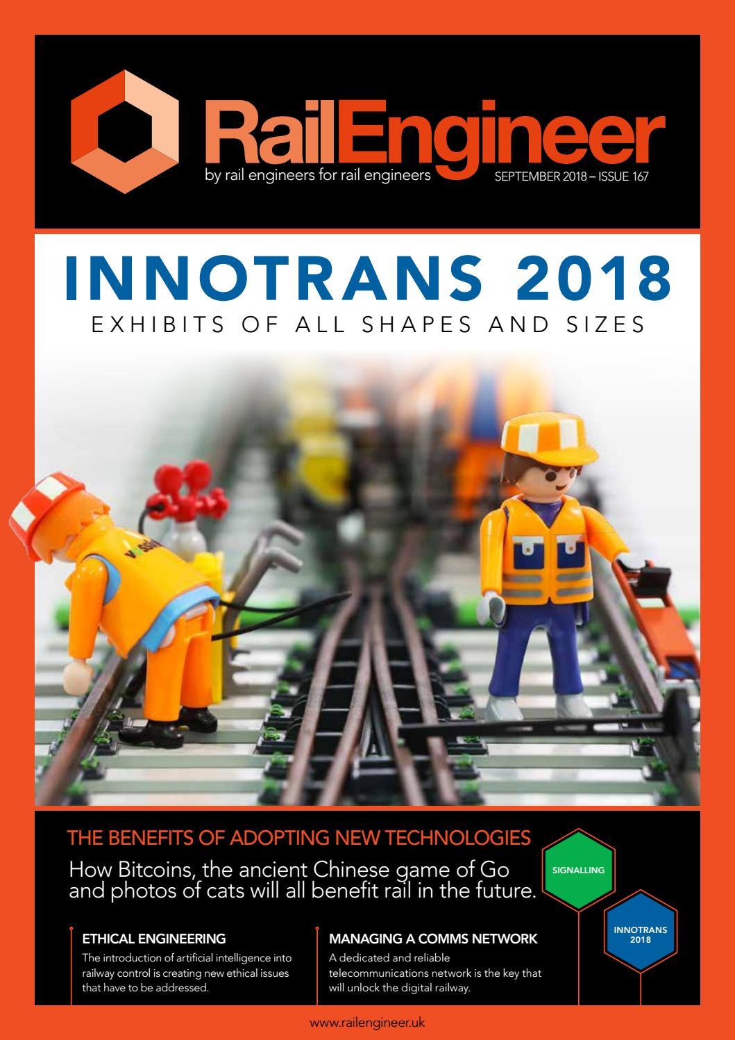 Rail Engineer - Issue 167 - September 2018 by Rail Media - issuu