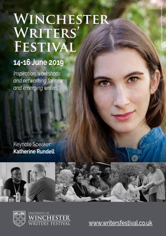 2019 Winchester Writers' Festival Programme by University of