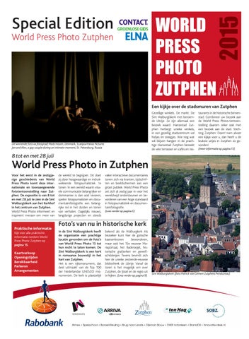 World Press Photo 2015 Voor Het Eerst In Zutphen By