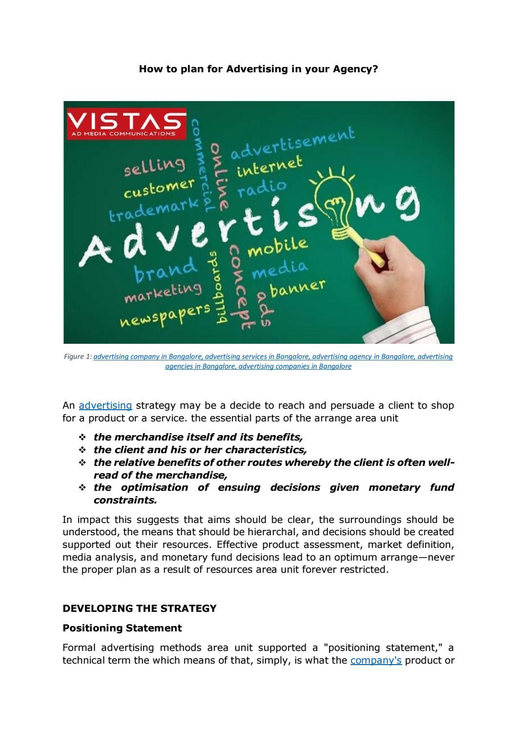 Advertising Agencies in Bangalore | Creative Advertising