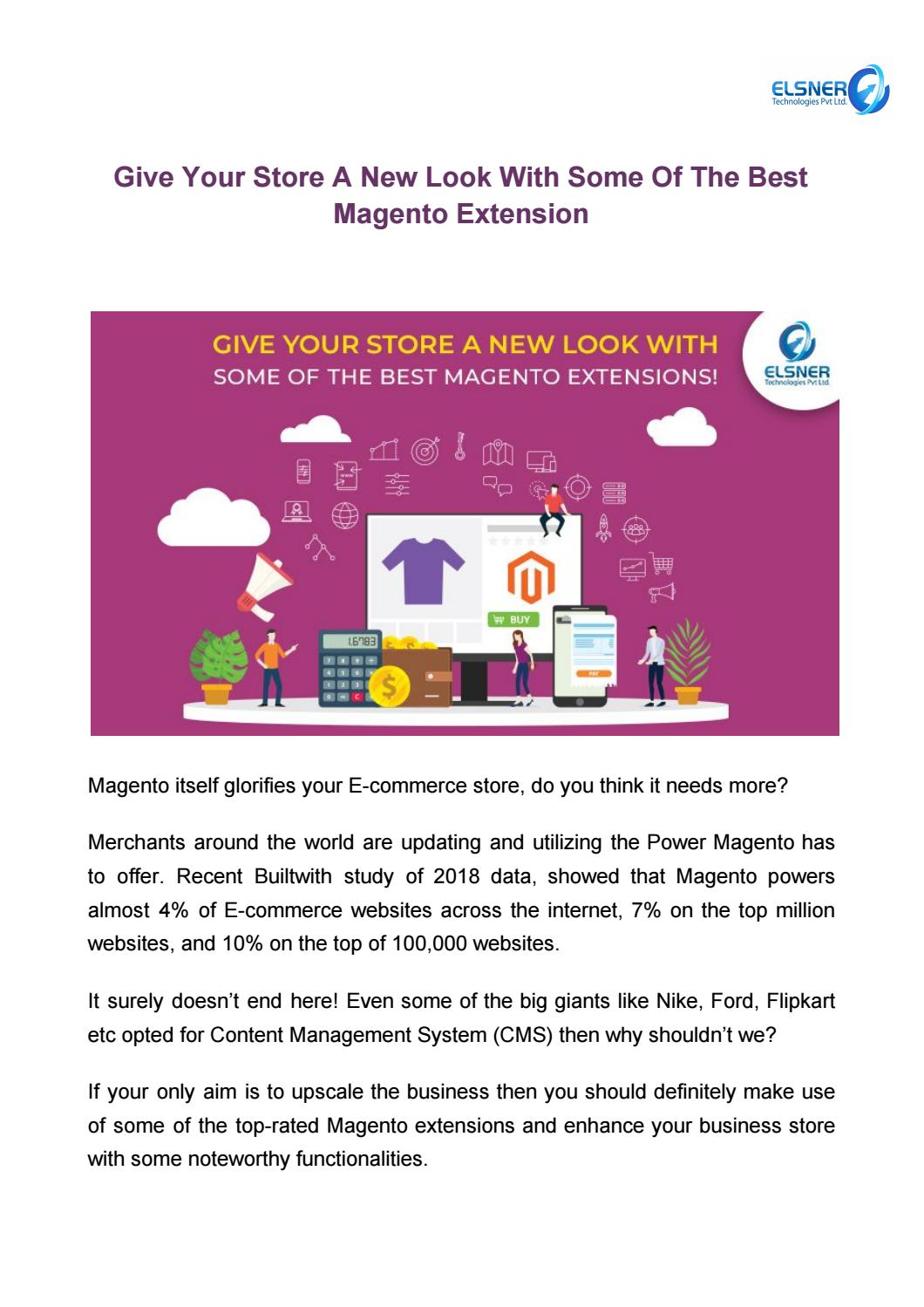 THE BEST MAGENTO EXTENSIONS IN 2019 by Harshal Shah - issuu