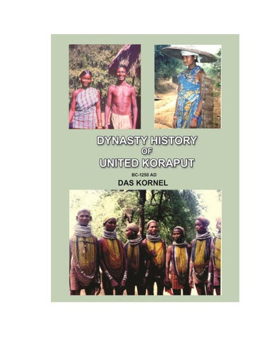 DYNASTY HISTORY OF UNITED KORAPUT by Dr Kornel Das - issuu