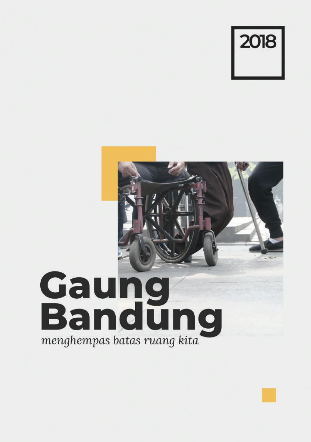 Gaung Bandung 2018 Menghempas Batas Ruang Kita by Gaung