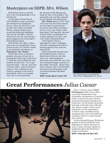 Page 17 of Great Performances: Julius Caesar