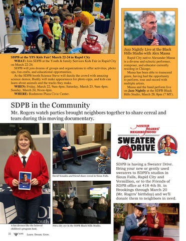 Page 22 of SDPB in the Community