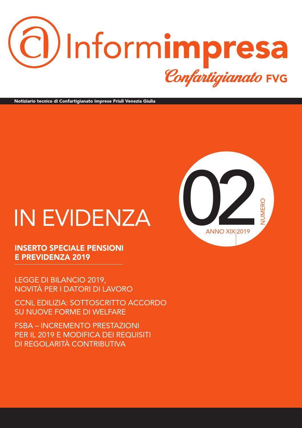 Tende Per Interni Udine informimpresa n.2 febbraio 2019 by confartigianato-imprese