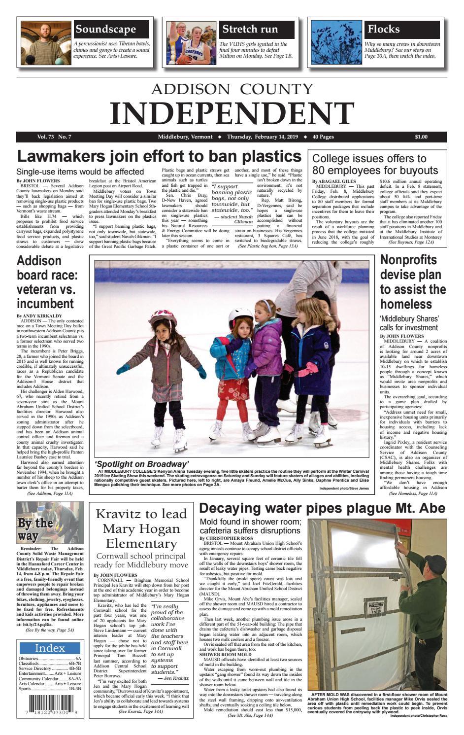 Thursday, February 14, 2019 by AddisonPress - issuu