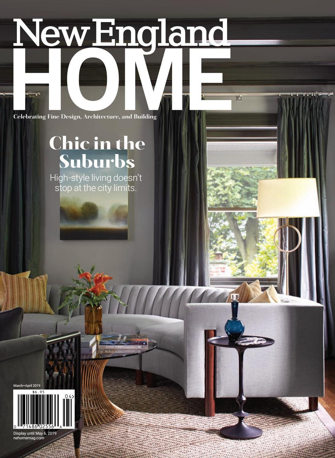 ranch home remodel annie selke ranch house makeover home redesign New England Home March April 2019 by nehomemag - issuu