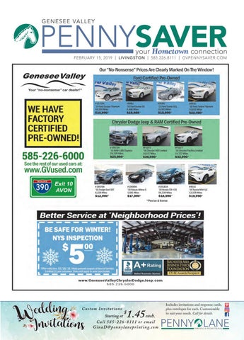 Livingston Edition - Genesee Valley Penny Saver 2-15-19 by