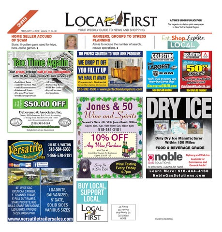 8b89a280c Local First Corinth 021419 by Capital Region Weekly Newspapers - issuu