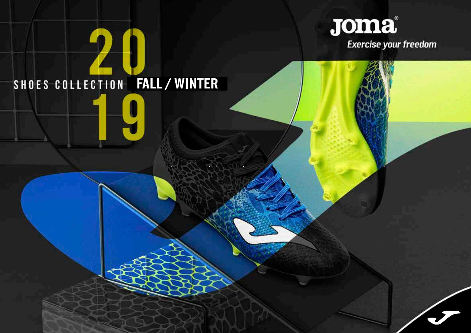 Joma Shoes Collection Fall Winter by Tackla issuu